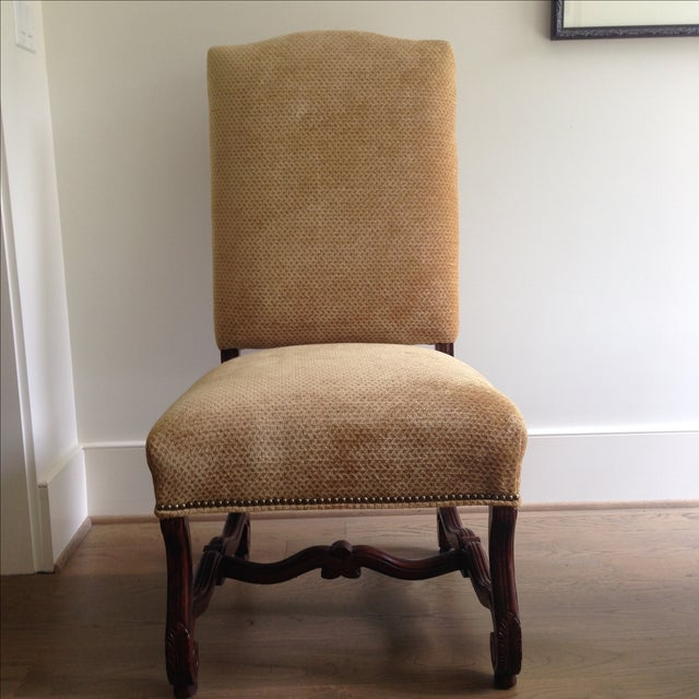 Fremarc Carved Provence Dining Chairs - Set of 6 For Sale In Dallas - Image 6 of 9