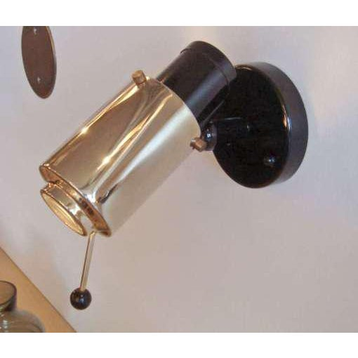 Pair of Jacques Biny Wall Lights for Lita For Sale In Los Angeles - Image 6 of 7