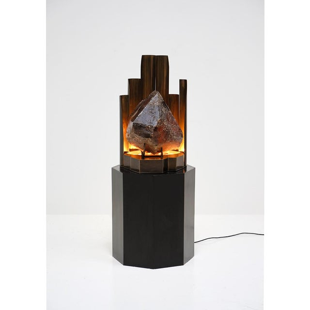 CHRISTIAN KREKELS QUARTZ PROTOTYPE LAMP - Image 11 of 11