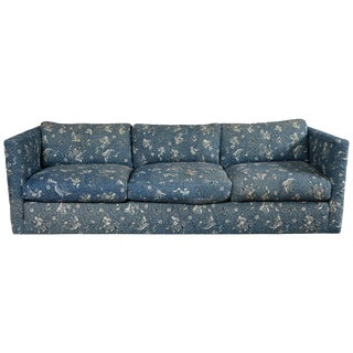 1970s Vintage Milo Baughman Style Lawson Sofa For Sale