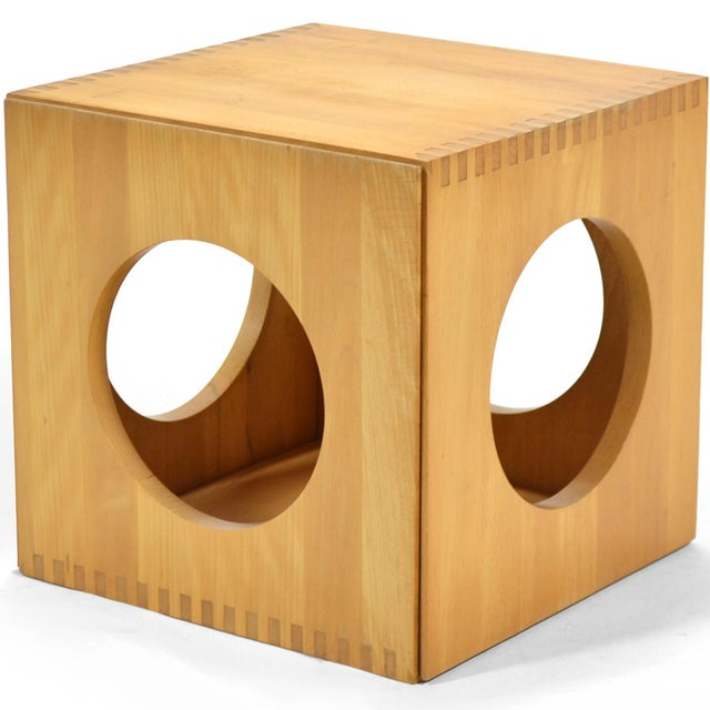 Jens Quistgaard Cube End Tables by Richard Nissen For Sale - Image 11 of 11