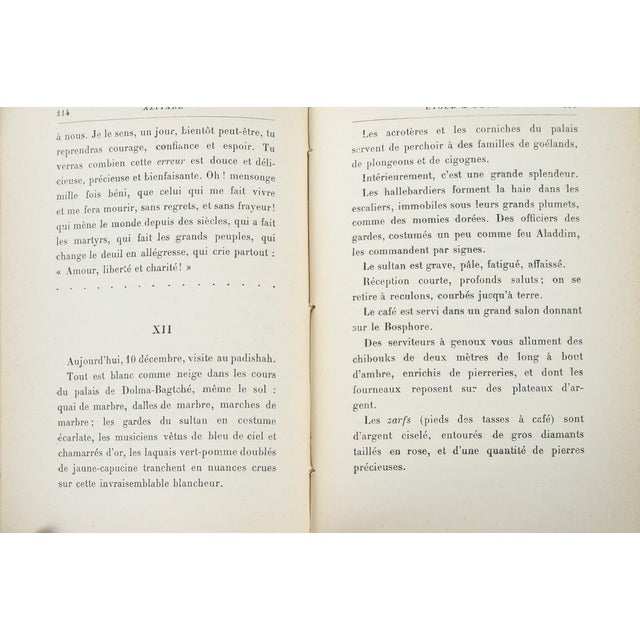 """""""Aziyade"""" Book by Pierre Loti, 1925 For Sale In Los Angeles - Image 6 of 7"""