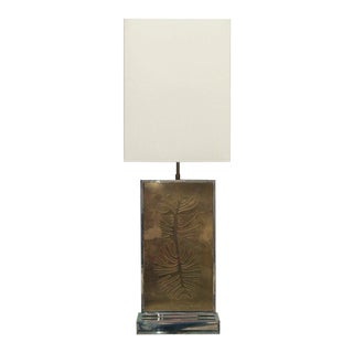 Roger Vanhevel Signed Table Lamp For Sale