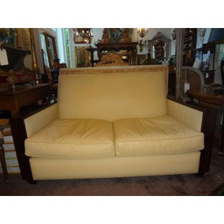 1930's French Art Deco Sofa Inspired by Ruhlmann Preview