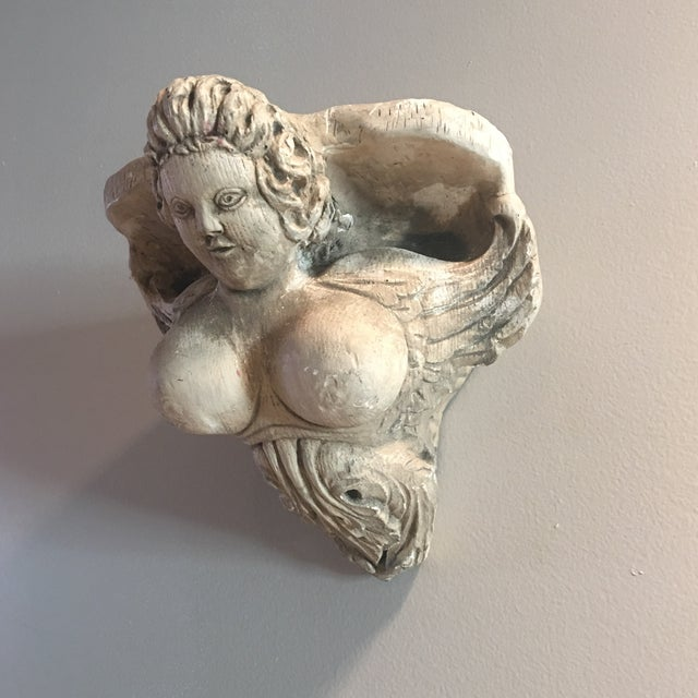 Hand Carved Buxom Figurehead Wall Mount - Image 9 of 9