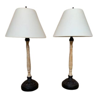John Rosselli Antiques Pair of Lamps For Sale