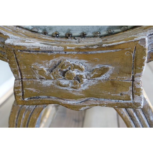 Italian Carved Gilt Wood Bench - Image 5 of 6