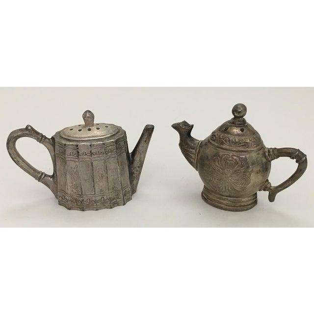 Godinger Teapot Salt & Pepper Shakers For Sale - Image 4 of 4
