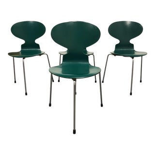 Arne Jacobsons for Fritz Hansen Ant Chairs - Set of 4