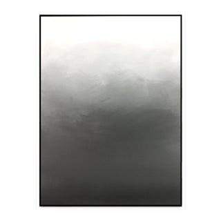 Abstract Gray Ombre - Painting 30x40 For Sale