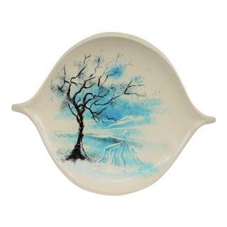 1950's Handmade Serving Platter For Sale