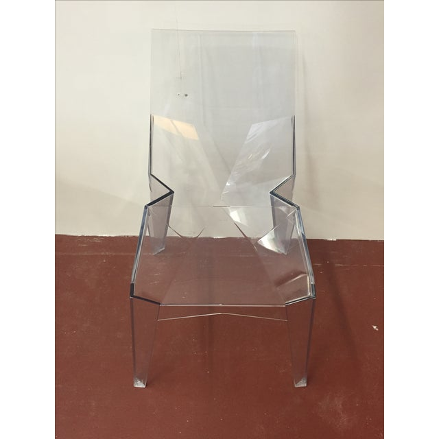 Bonaldo Clear Indoor or Outdoor Chair - Image 2 of 6