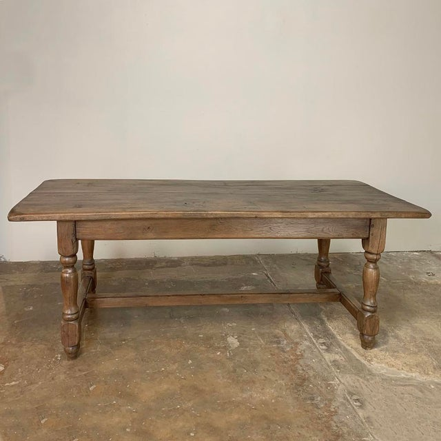 French Farm Table, 19th Century Country French Oak For Sale - Image 3 of 12