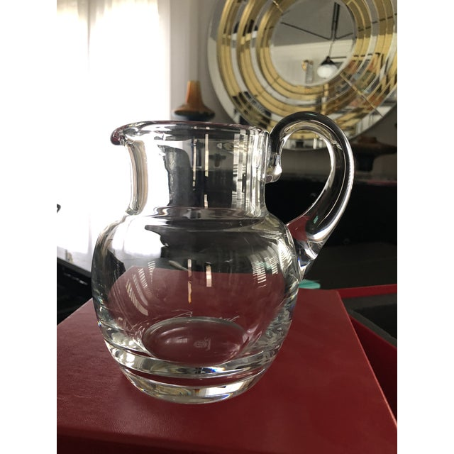 Baccarat Mosaique Pitcher For Sale - Image 11 of 12