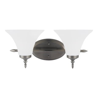 Alice Two Light Wall / Bath, Silver For Sale