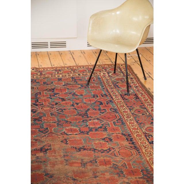 "Antique Distressed Beshir Gallery Rug Runner - 6'6"" x 13' - Image 4 of 10"