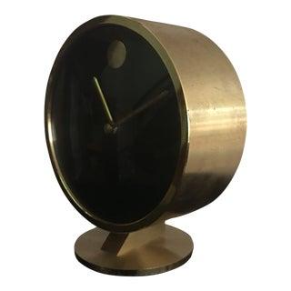 1970s Vintage Howard Miller Tabletop Clock For Sale