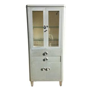 1930s Vintage Art Deco Medical Cabinet For Sale