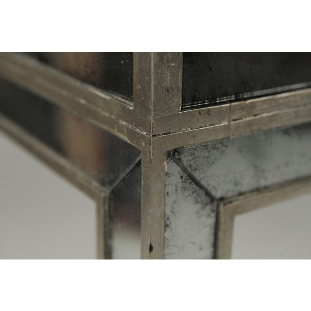 Late 20th Century 20th Century Art Deco John Richard Mirrored Modern Console Table For Sale - Image 5 of 10