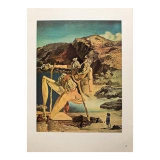 "1957 Salvador Dali, ""Spectre De La Libido"" Original Period Parisian Photogravure For Sale"