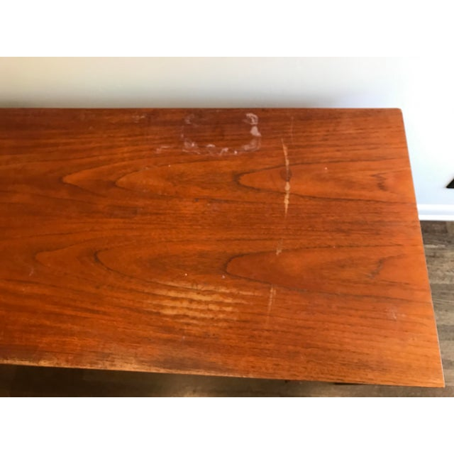 Domino Mobler Danish Modern Teak Desk For Sale - Image 5 of 5