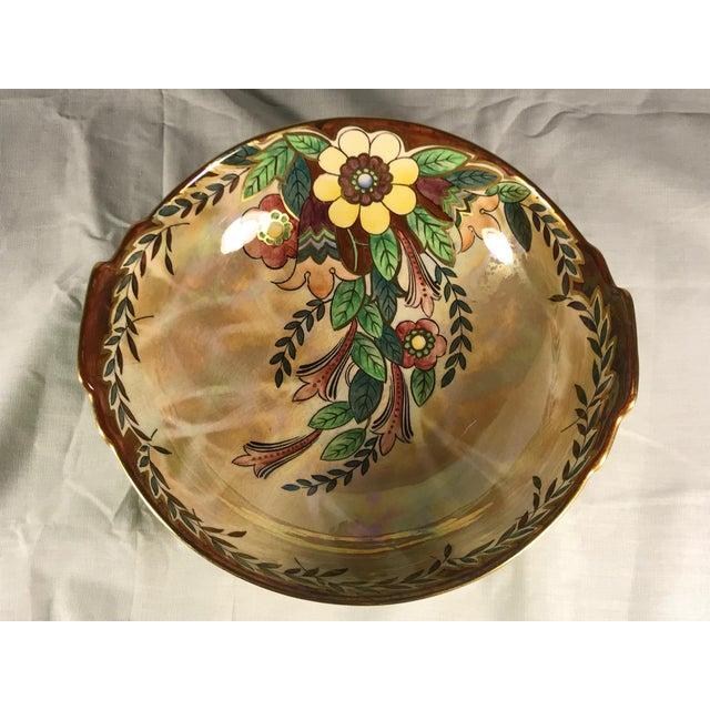 Vintage Royal Winton Grimwades Footed Trinket Dish For Sale In Atlanta - Image 6 of 11