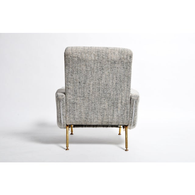 Metal French Airborne Edition Armchairs by Pierre Guariche - a Pair For Sale - Image 7 of 13