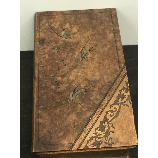 Wooden Faux Book Jewel Box For Sale In Washington DC - Image 6 of 9