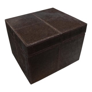Box, Hair on Hide