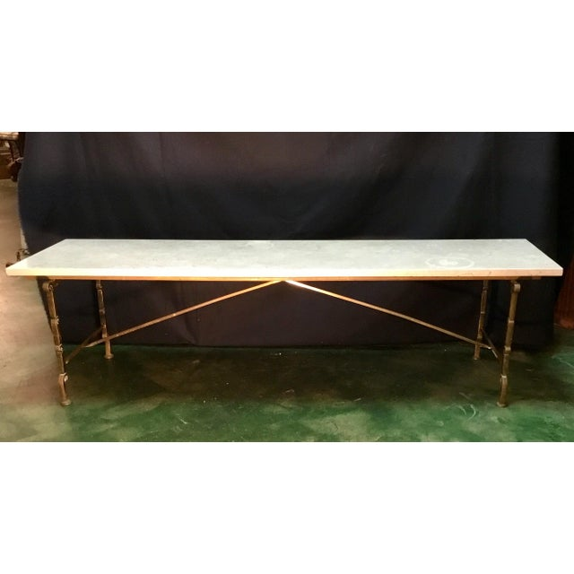 Vintage Hollywood Regency Coffee Table For Sale - Image 13 of 13