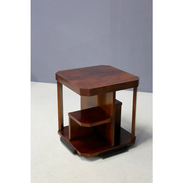 Coffee table from the 30's. The coffee table is attributed to the great designer Gio Ponti. Its realization is in a...