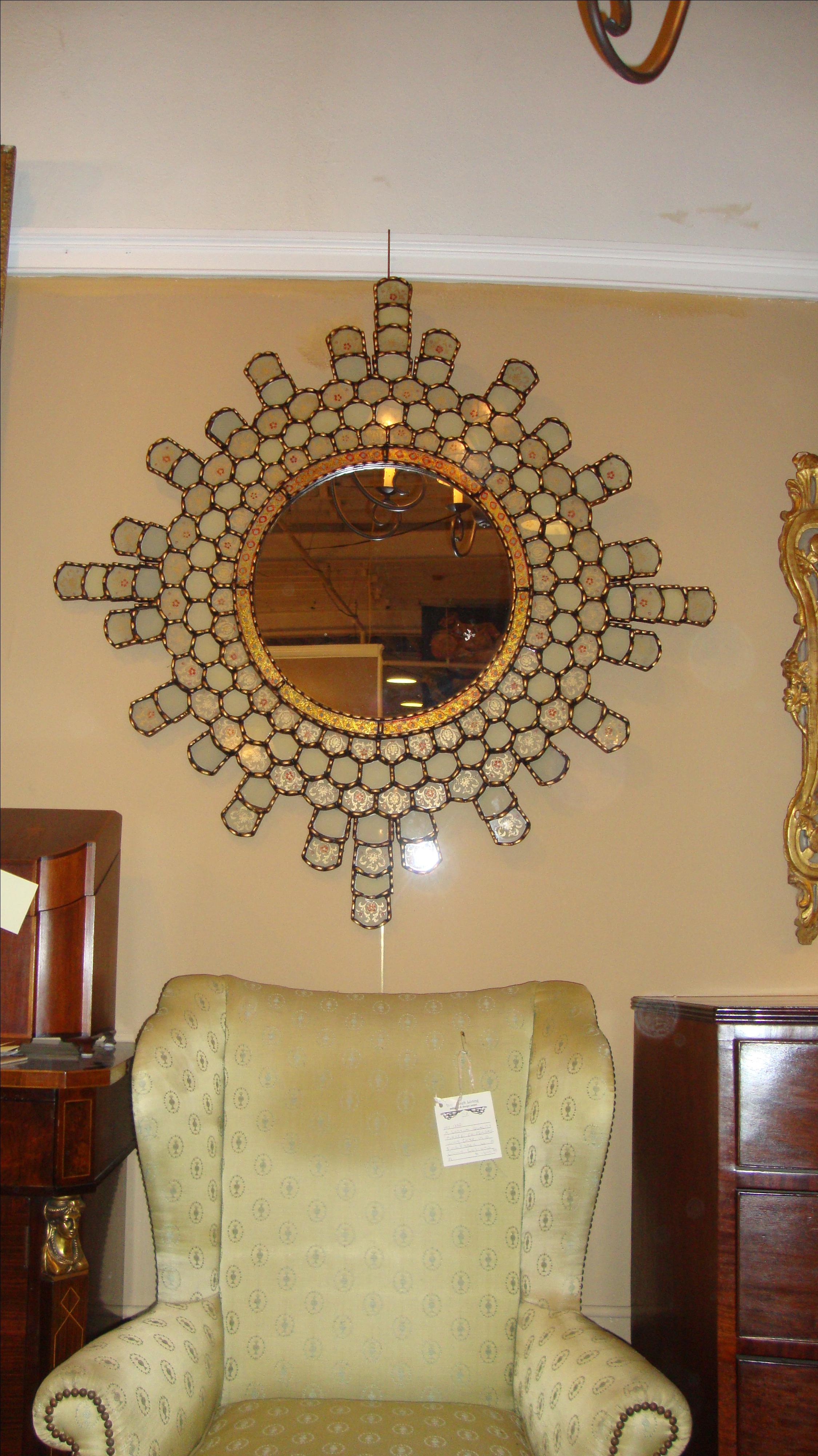 Sunburst Moroccan Mirror   Image 3 Of 9