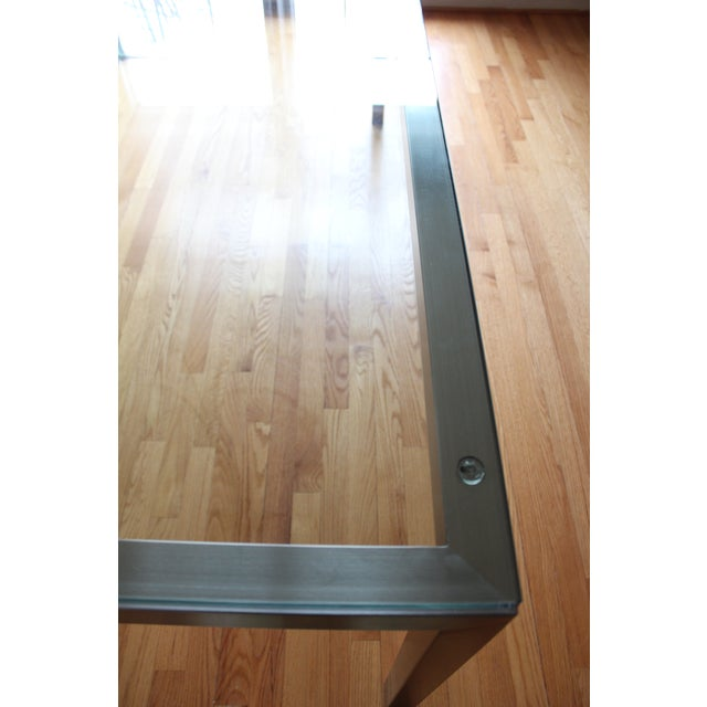 Crate & Barrel Parsons Dining Table - Image 5 of 6