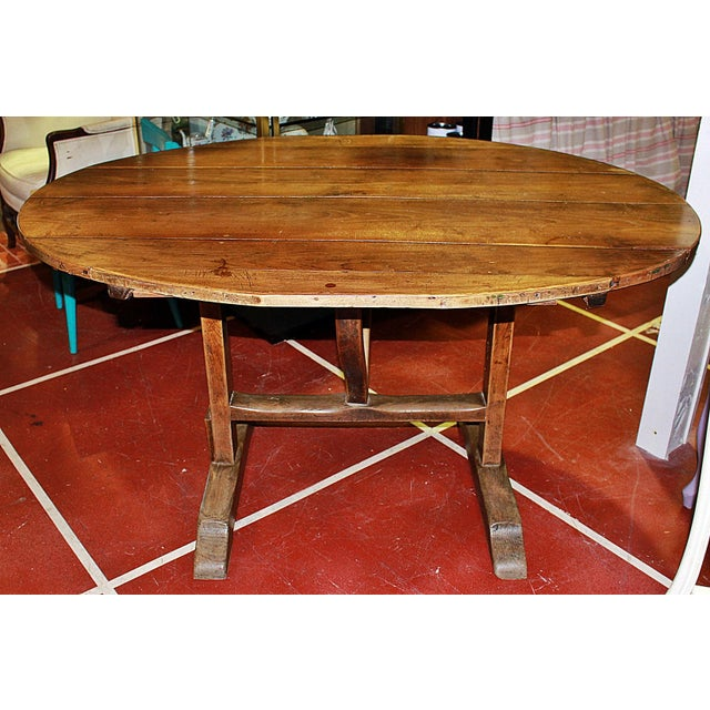 Antique French Wine Tasting Table - Image 4 of 8