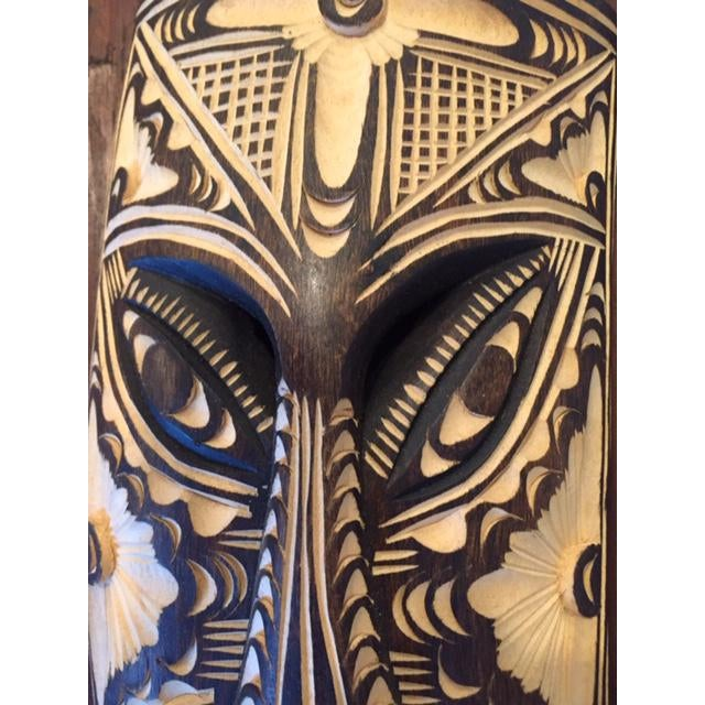 Mexican 1960s West African Tribal Mask For Sale - Image 3 of 7