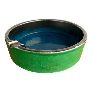 Mid Century Italian Ashtray Ceramic For Sale