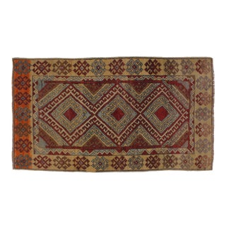 "Leon Banilivi Turkish Anatolian Oushak Rug -4' X 6'8"" For Sale"