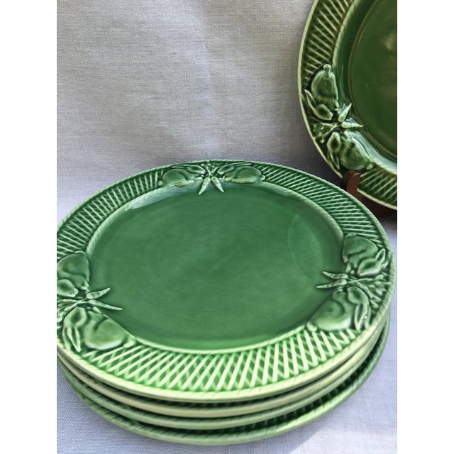 1980s Pinheiro Bunny Rabbit Luncheon Plates - Set of 5 For Sale - Image 5 of 7