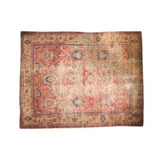 """Antique Mahal Carpet - 9'8"""" x 12'5"""""""