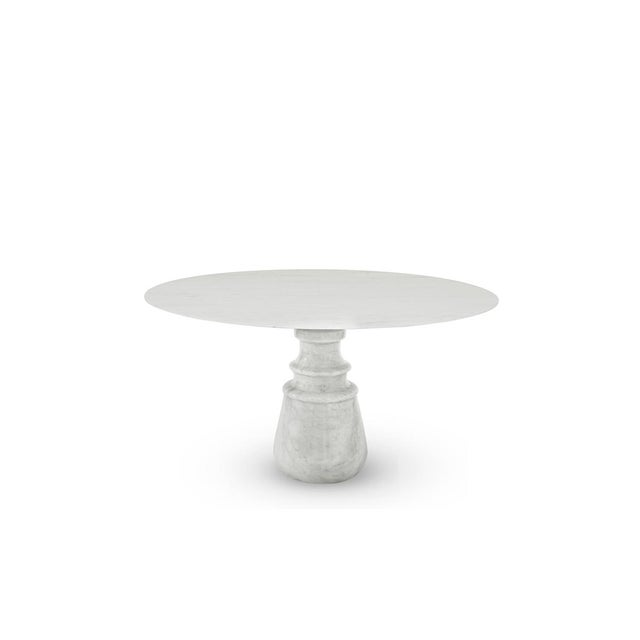Contemporary Pietra Round Dining Table From Covet Paris For Sale - Image 3 of 3