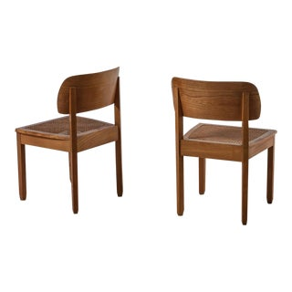 Pair of Karl Bertsch Chairs, Deutsche Werkstätten Hellerau, 1930s For Sale