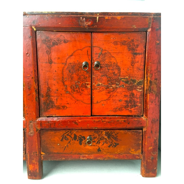 Asian Gansu Sideboard Cabinet - Image 10 of 11