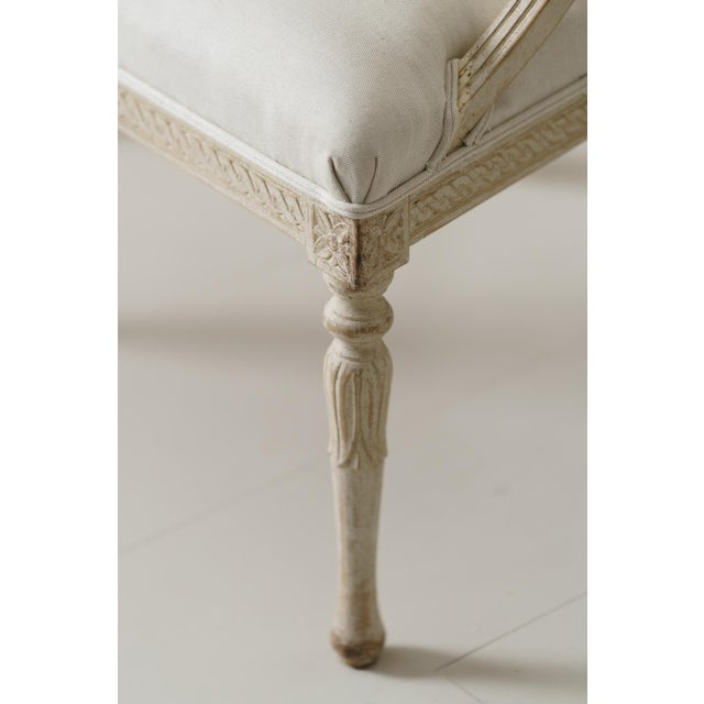 Swedish Gustavian Barrel Back Armchairs With Lions' Heads - a Pair For Sale - Image 9 of 11