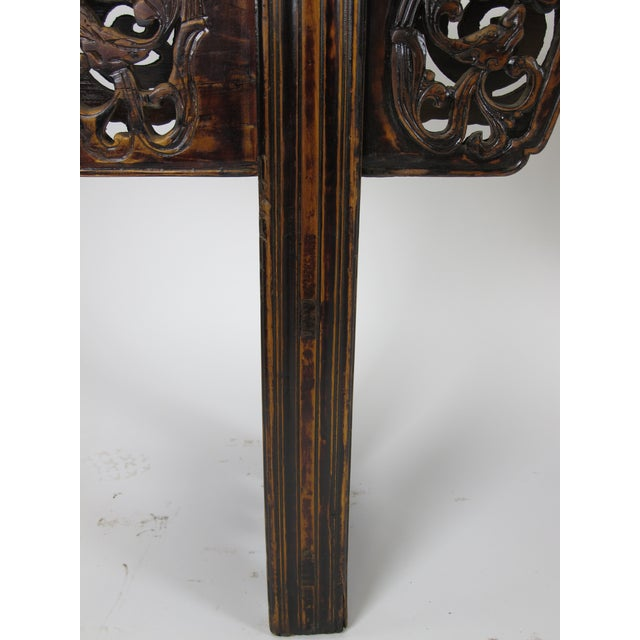 Antique Chinese Console Table For Sale In Boston - Image 6 of 8