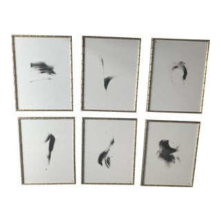 Christopher Guy Iche Pen & Ink Drawings - Set of 6 For Sale