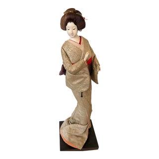 Mid 20th Century Japanese Geisha Model For Sale