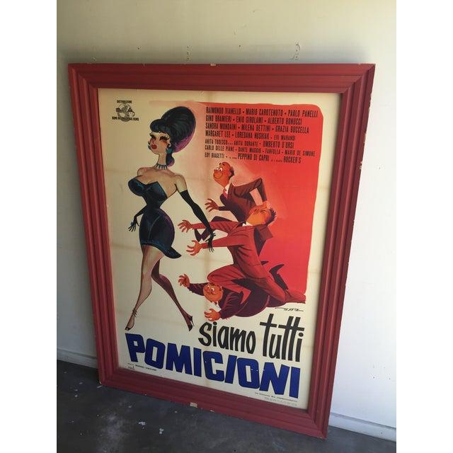 1962 Italian Movie Poster - Image 2 of 10
