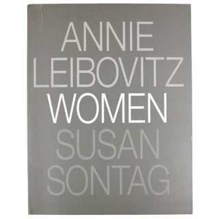 Leibowitz and Sontag: Women, First Edition Softcover For Sale