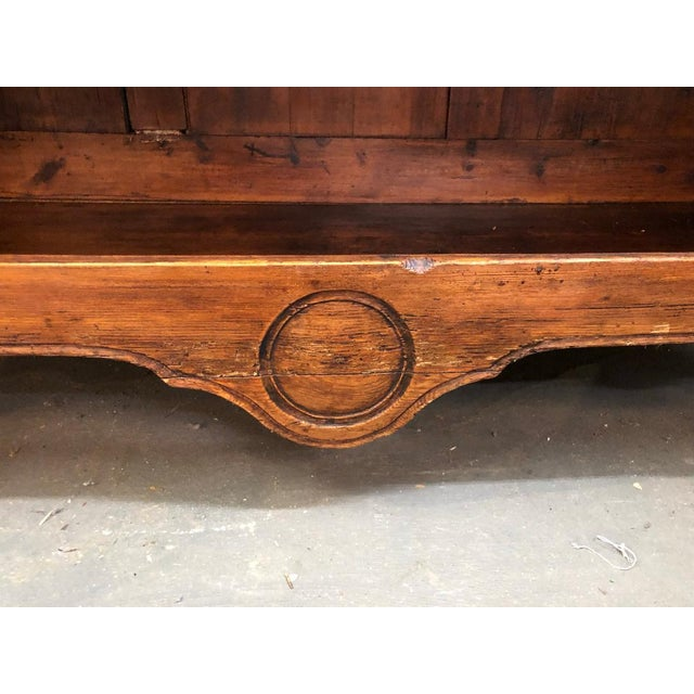 Wood 19th Century French Buffet Deux Corps For Sale - Image 7 of 9