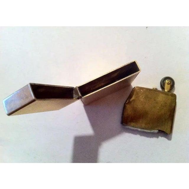 Gold 14k Gold Lighter Signed B&A For Sale - Image 8 of 10